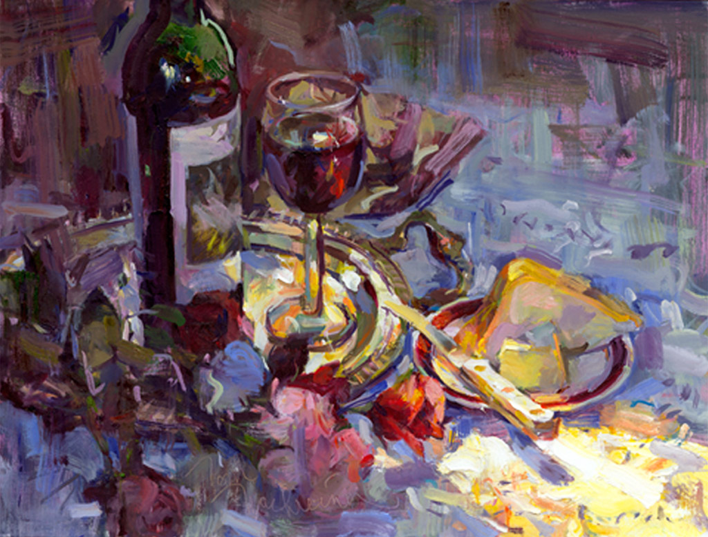 Days of Wine & Roses, Painting by Tom Nachreiner