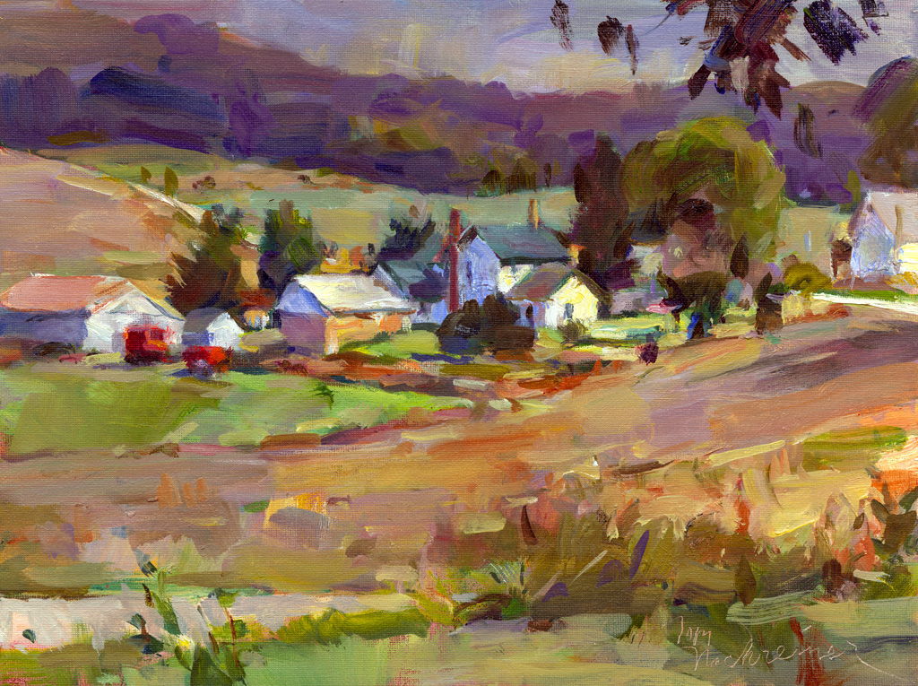 Jeremiah's Farm, Painting by Tom Nachreiner