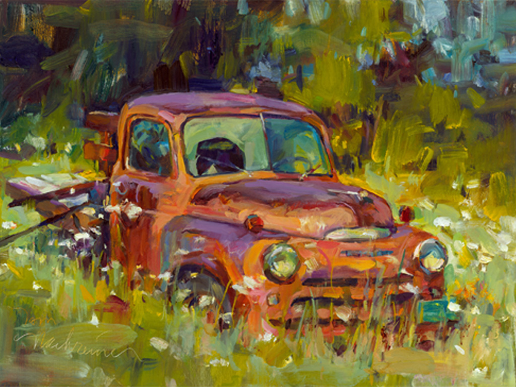 Rusting In Peace, Painting by Tom Nachreiner