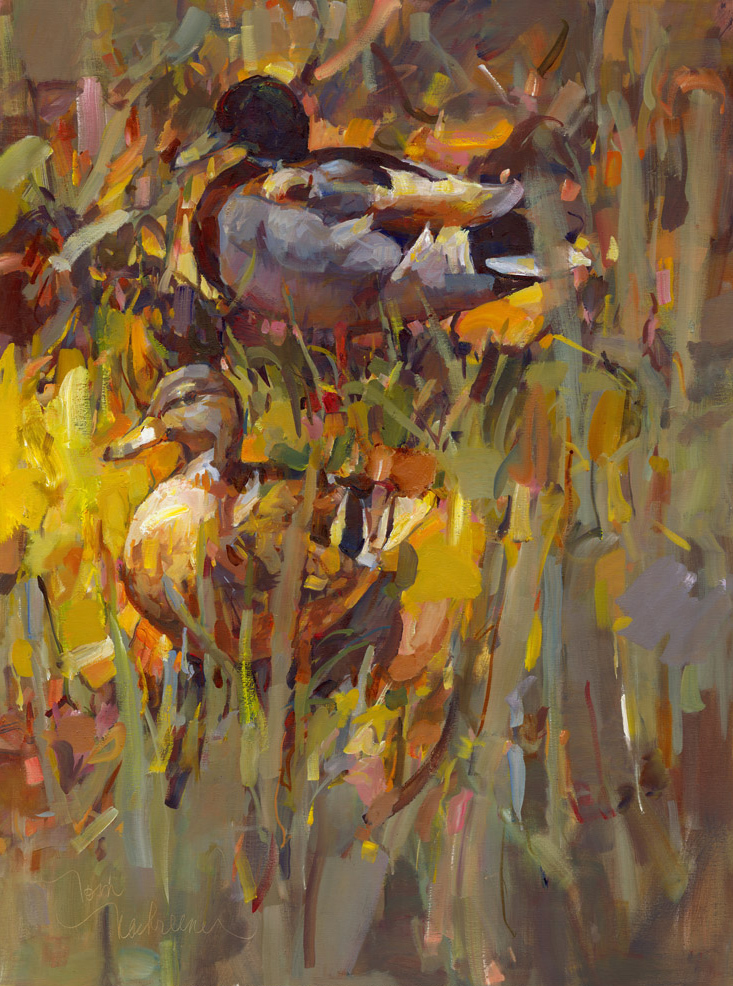 Splendor In The Grass, Painting by Tom Nachreiner