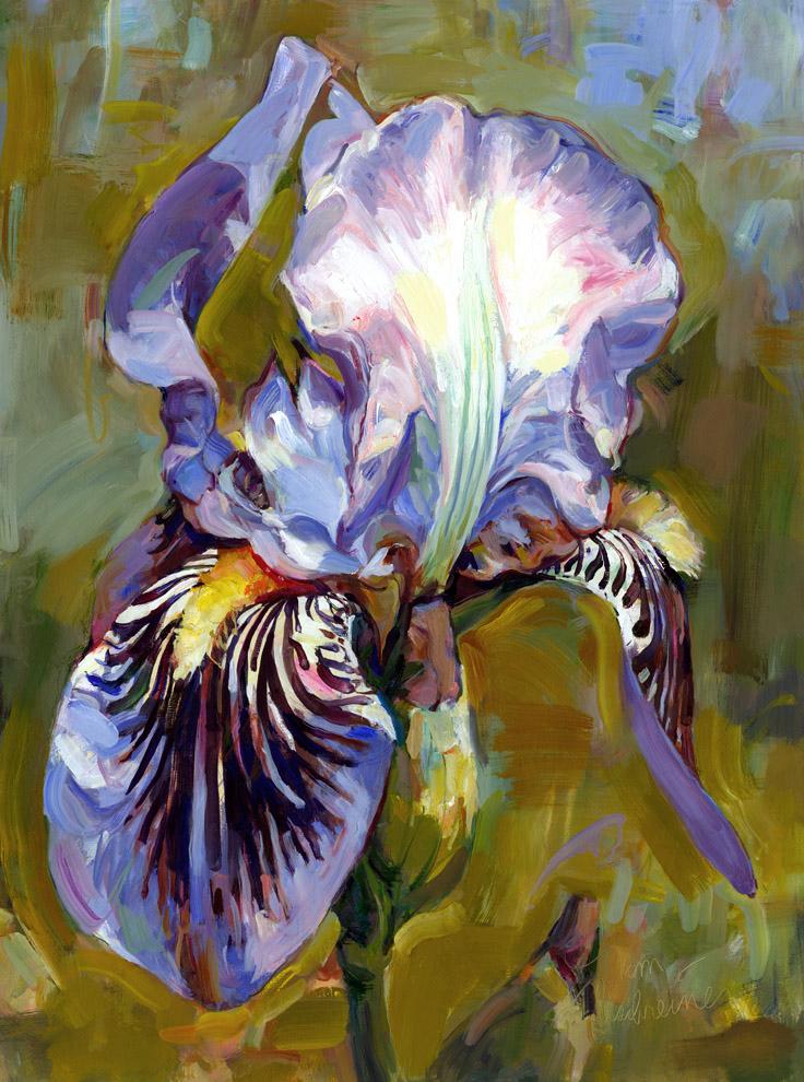 Single Blue Iris
