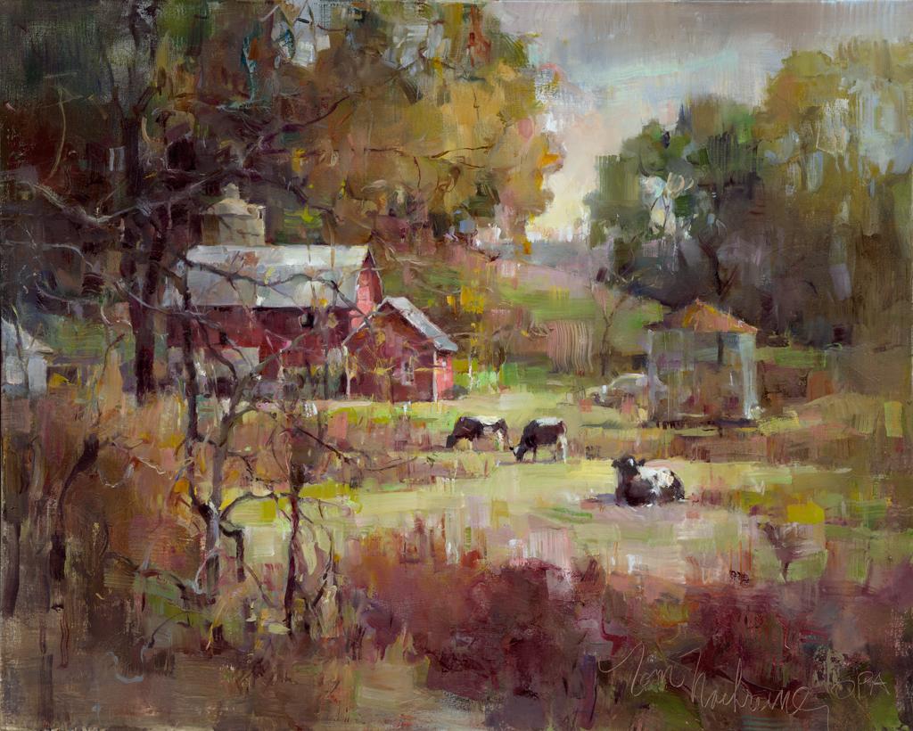 Red Barns & Sumac