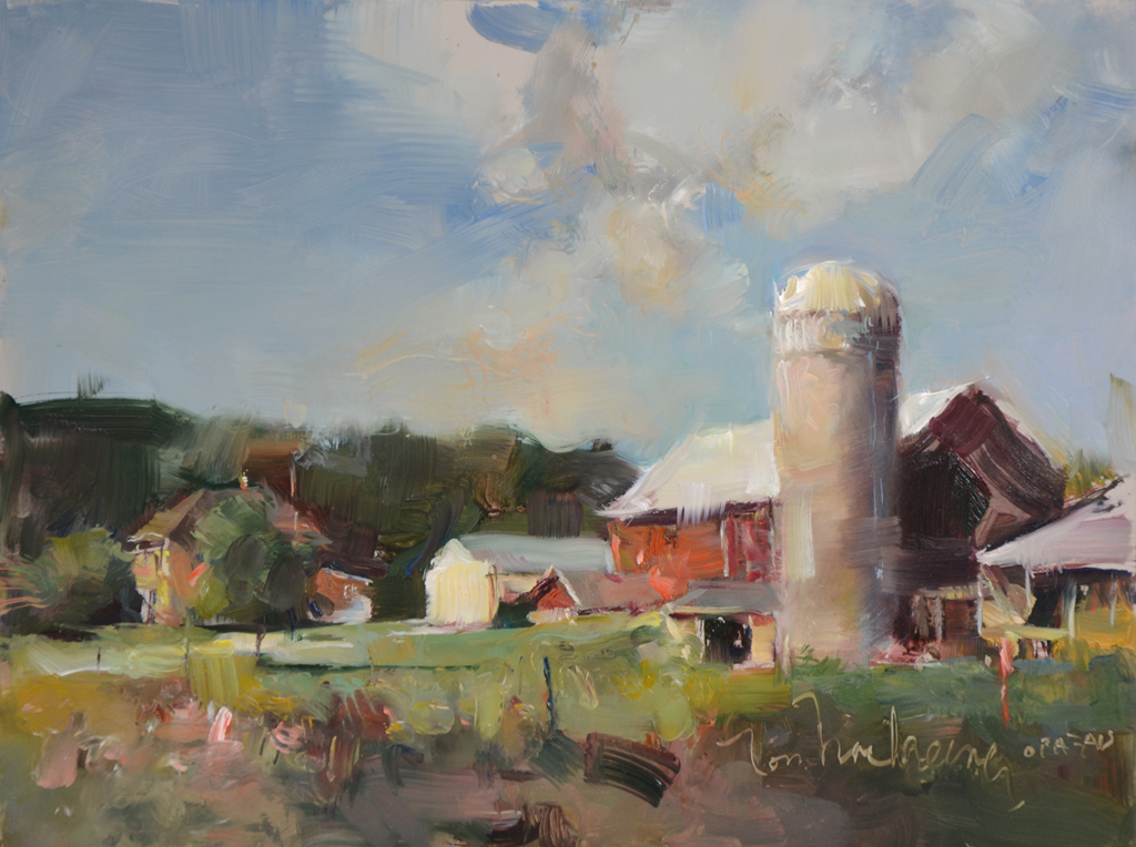 Late Afternoon Farm