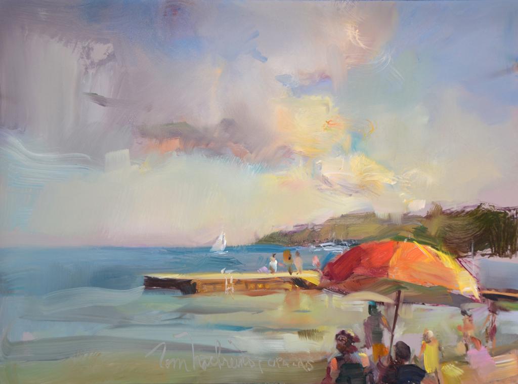 Sunny Sister Bay Beach