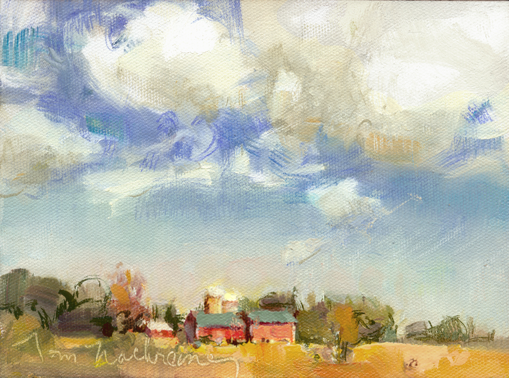 Barns & Clouds