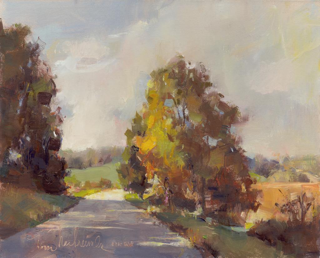 Winding Bryn Road